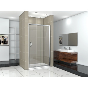 Душевая дверь Good Door Infinity WTW-130-C-CH