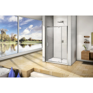 Душевая дверь Good Door Orion WTW-PD-130-C-CH
